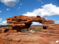 Photos d'Australie: Fenêtre naturelle, Kalbarri NP