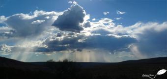 Photos d'Australie: Lumière et nuages au loin