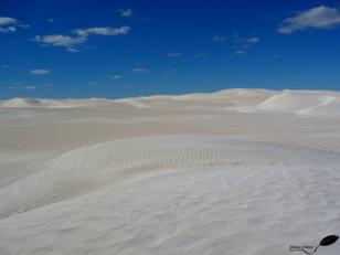Photos d'Australie: Dunes de sable blanc Western australia