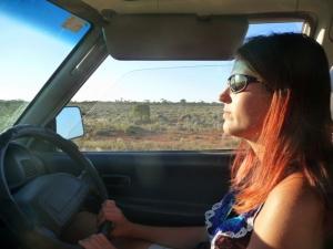 Au volant sur la route de la Nullarbor