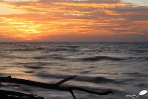 Coucher de soleil île seychelles