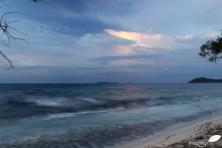 tombée de la nuit île seychelles