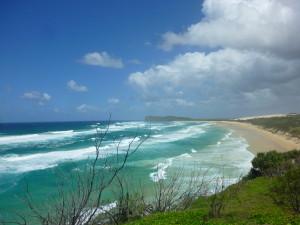 Côte de Fraser Island