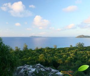 Vue depuis le sommet de Cousin Island