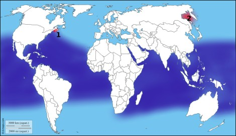 carte répartition requin baleine