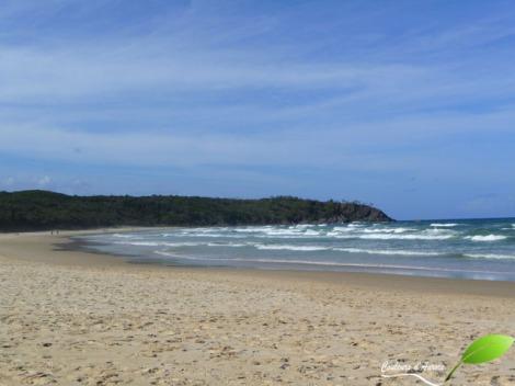 Première plage: naturiste, vers Noosa heads