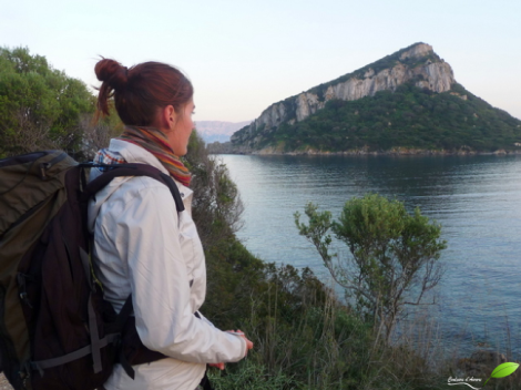 Voyage en sac à dos à Capo figari (Sardaigne)