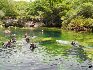 "Cenote ""Jardin del eden"""