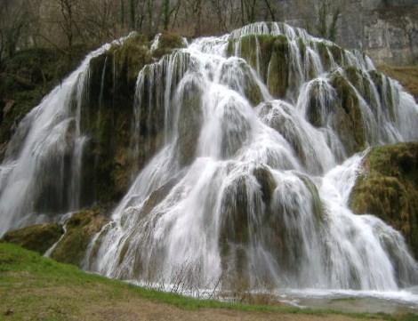 Cascades des Tufs, Baume-les-Messieurs