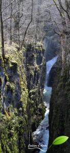 Cascade des gorges de la langouette