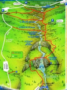 plan cascades du hérisson