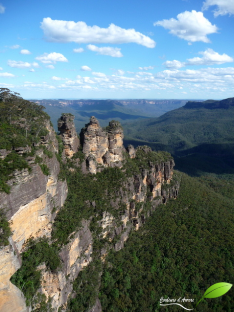 Blue mountains: