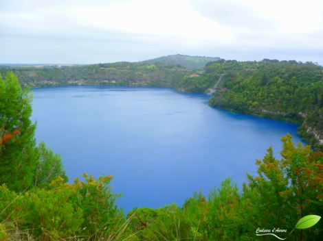 Blue lake, Mont Gambier