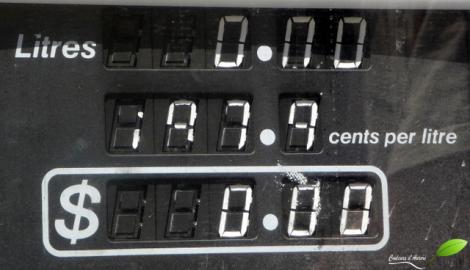 Le prix du litre d'essence le plus élevé du voyage !