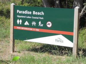 Paradise beach, Gippsland lakes costal park