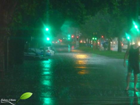 Inondations à Melbourne