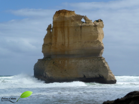 The Great Ocean Road et ses rochers scultés par l'eau