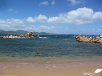 La côte près d'Olbia
