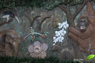Entrée du Rainforest Discovery Center à Sepilok