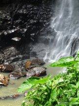 En bas de la cascade Puling brook